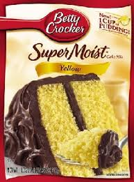 Betty Crocker Cake Mix & Brownie Mix