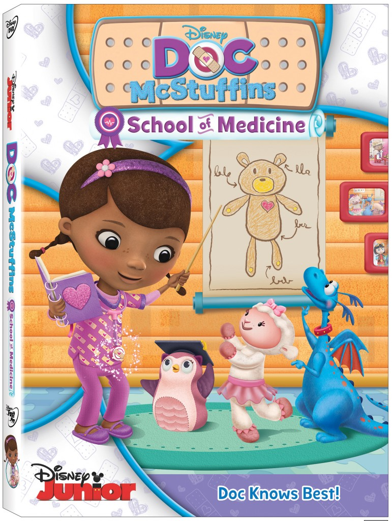Doc McStuffins: School of Medicine on DVD