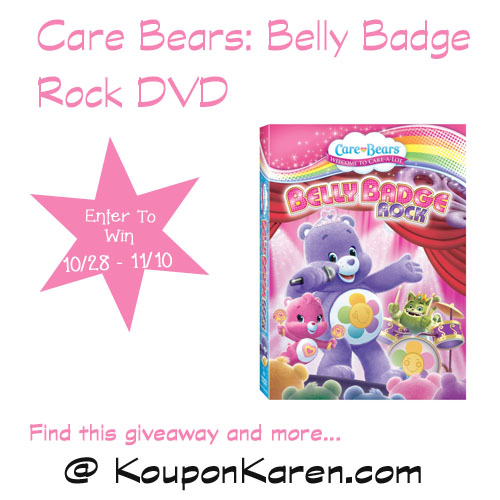 Care Bears Belly Badge Rock