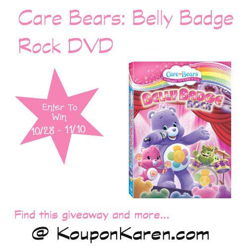 Care Bears Belly Badge Rock