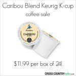Caribou-Blend-Kcup-Sale