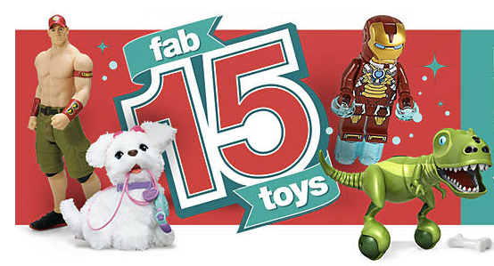 Kmart Fab 15 Holiday Toys