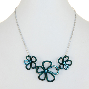 SOS-turquoise-teal-flower-necklace