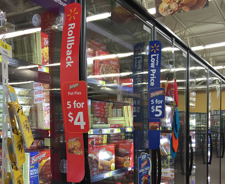 Look for Banquet and Chef Boyardee on Rollback at Walmart #LowPriceMeals #CollectiveBias