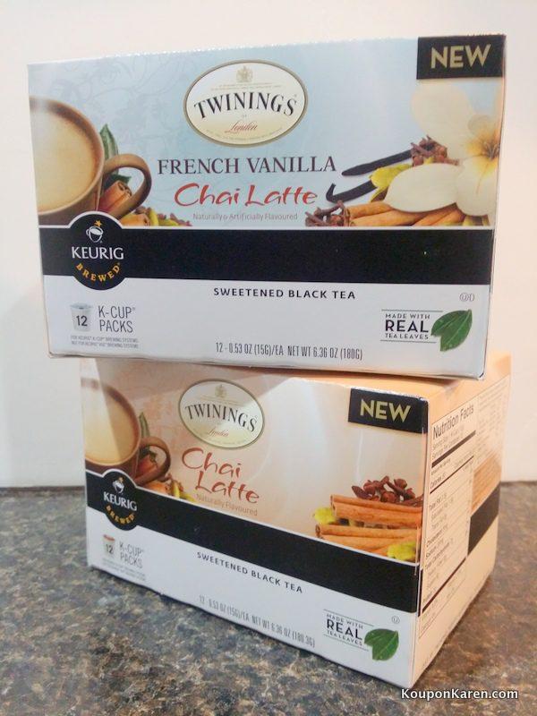 Chai Latte and Vanilla Chai