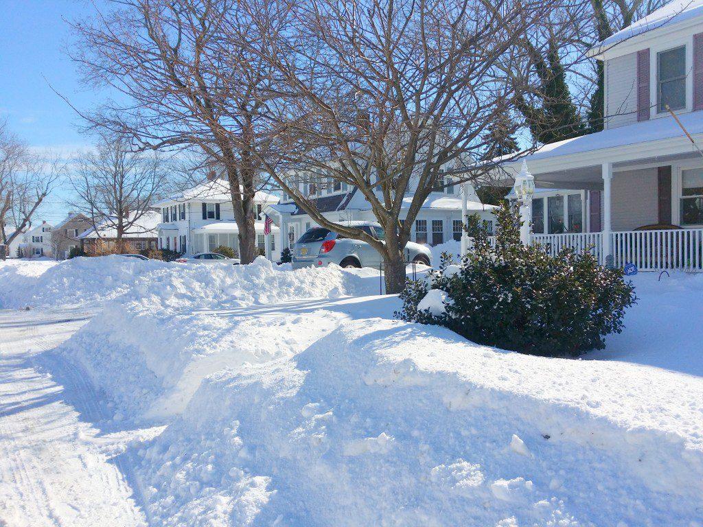 Rhode Island Snow Storm