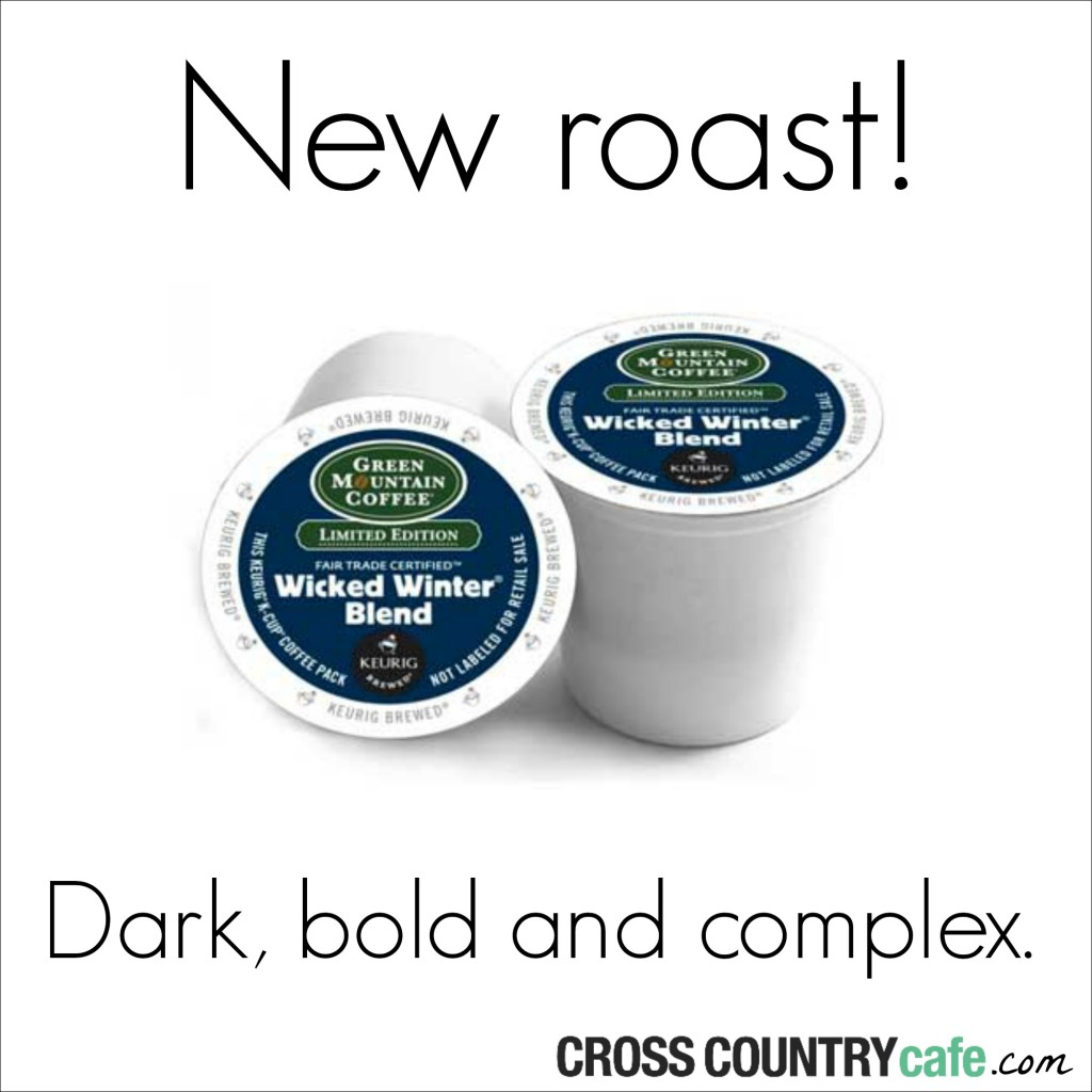 NEW Wicked Winter Blend Kcups