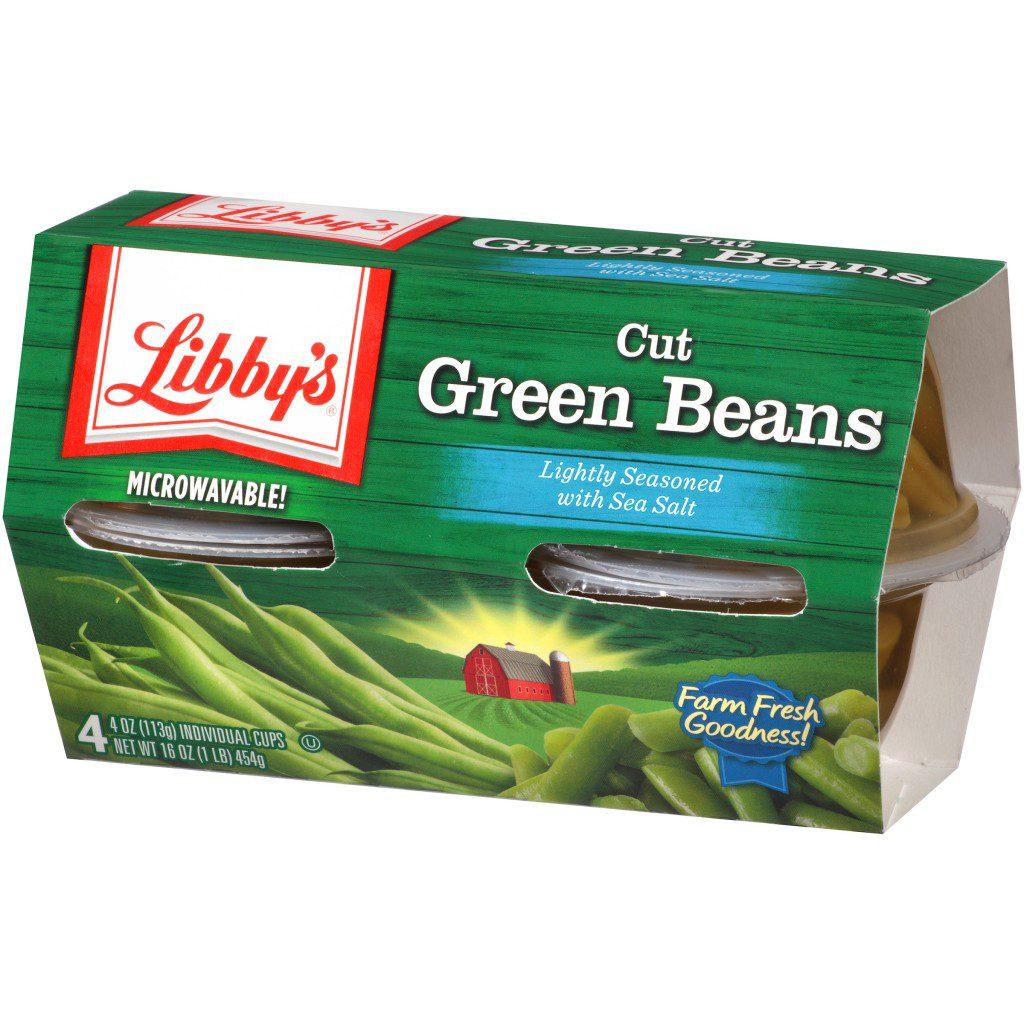 Green Beans Angled Left