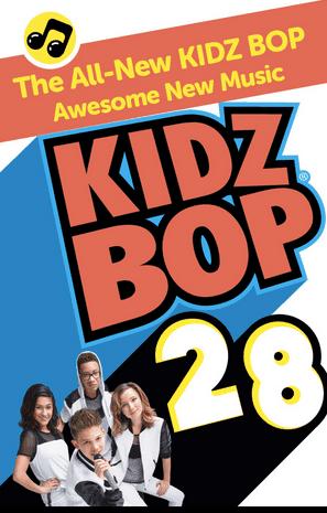 Kidz Bop 28 in Stores March 24, 2015
