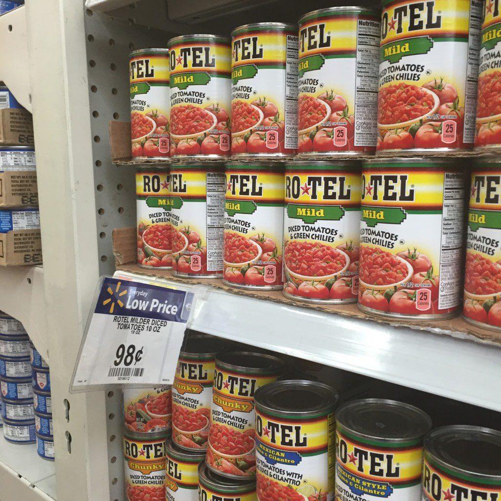 Great Savings on RO*TEL at Walmart #JustAddRotel