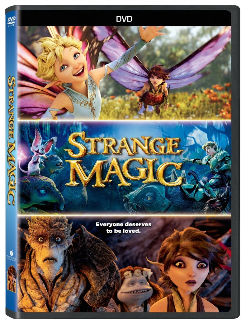 StrangeStrange Magic is coming to DVD, Digital HD/SD and On-Demand May 19, 2015MagicDVD copy