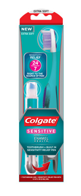 Colgate Enamel Health Toothbrush + Built In Sensitivity Pen copy