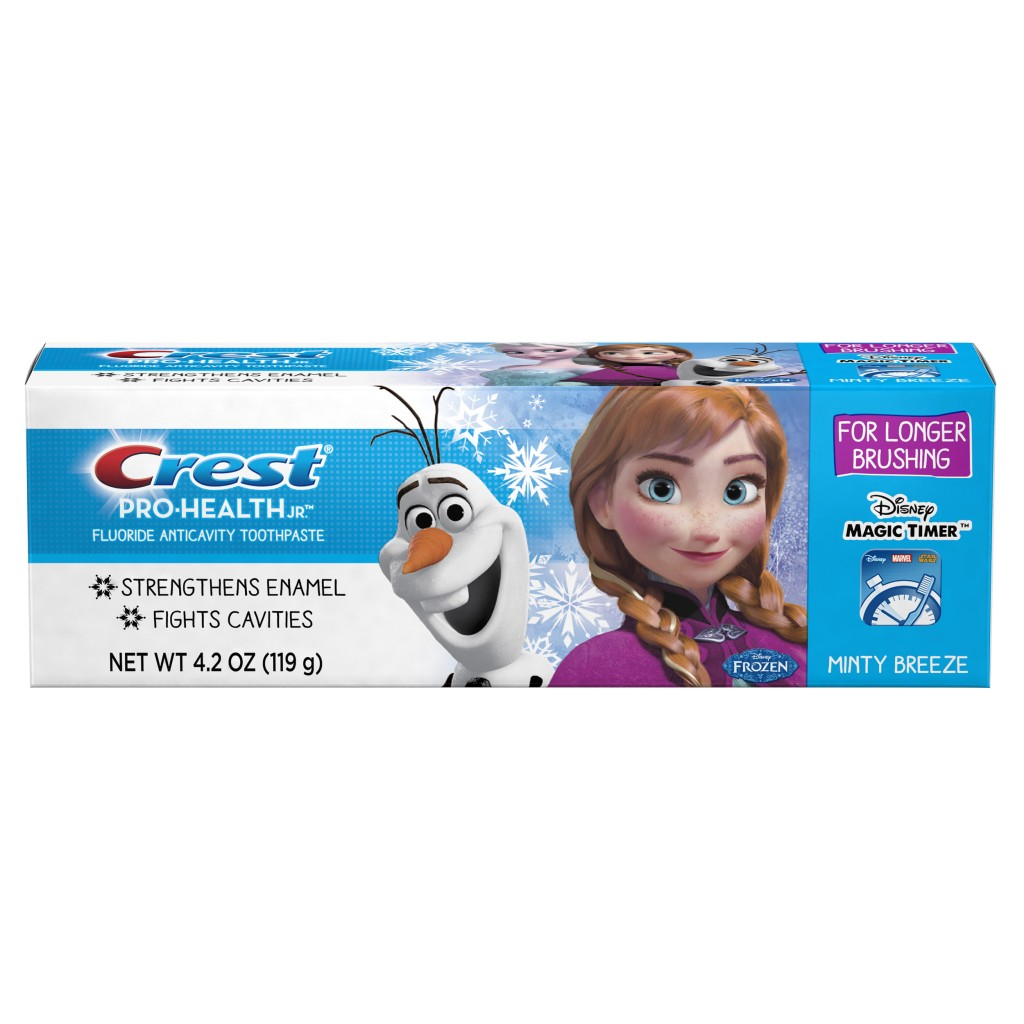 Crest Pro-Health JR. Frozen Toothpaste Packaging