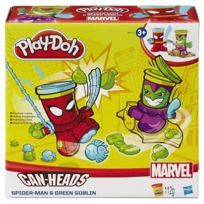 LAY-DOH MARVEL CAN-HEADS toy