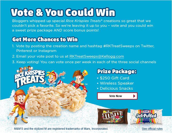 Rice Krispies Treats Contest #KreateMyHappy