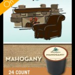 Caribou Mahogany K-cup Coffee only $11.99 per Box of 24