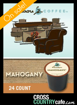 Caribou Mahogany K-cup Coffee