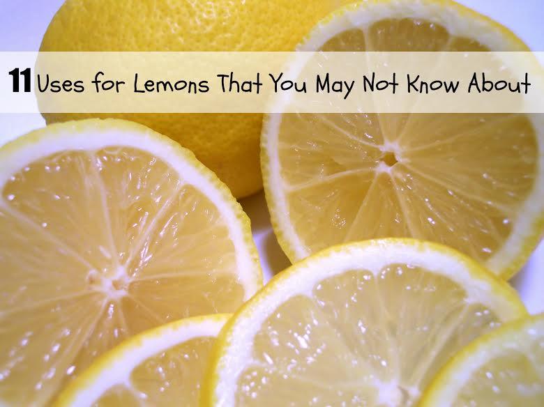 11 Lemon Uses