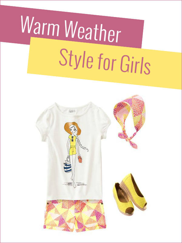 Warm Weather Style for Girls