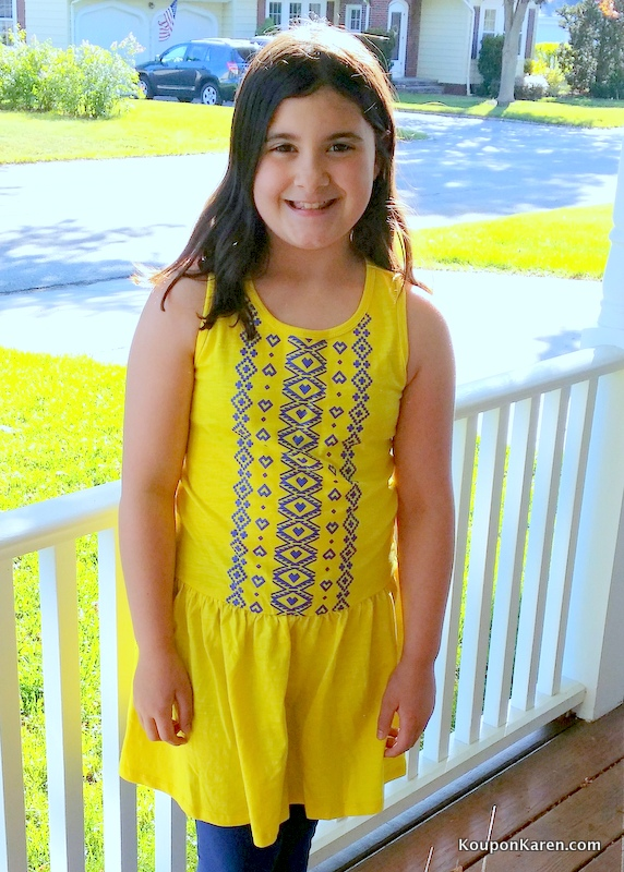 FabKids Navy Sunshine Outfit