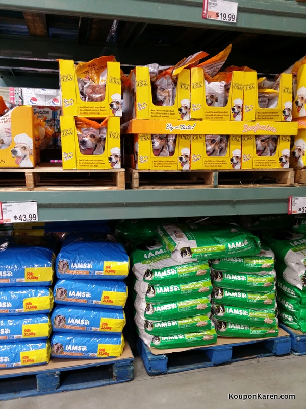 Dog Food at BJ's