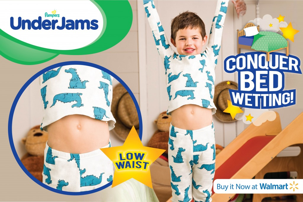 Help Your Child Conquer Bed wetting with Pampers UnderJams