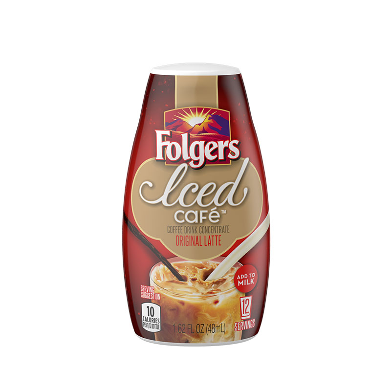 FOLGERS Iced Cafe Coffee