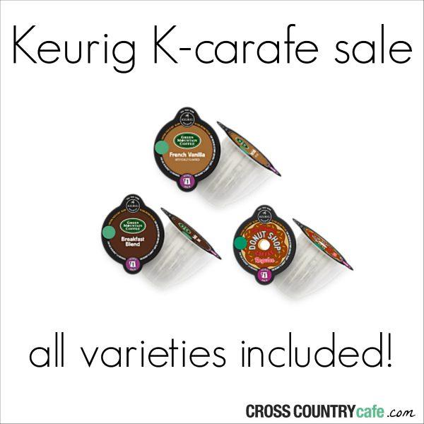Keurig K-Carafe Sale