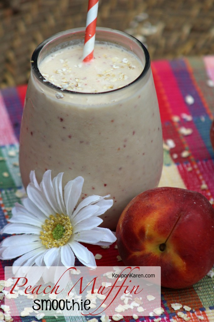Peach Muffin Smoothie Recipe