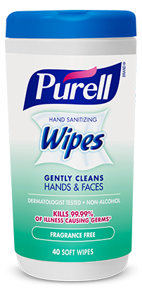 Purell-Wipes