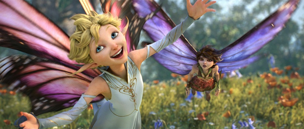 """Dawn (voice of newcomer Meredith Anne Bull) is crazy for love, while her sister Marianne (voice of Evan Rachel Wood) takes a decidedly different stance in """"Strange Magic,"""" a madcap fairy tale told through popular songs from the past six decades. Directed by Gary Rydstrom, """"Strange Magic"""" will be released by Touchstone Pictures on Jan. 23, 2015. (Strange Magic © & TM 2014 Lucasfilm Ltd.  All Rights Reserved.)"""