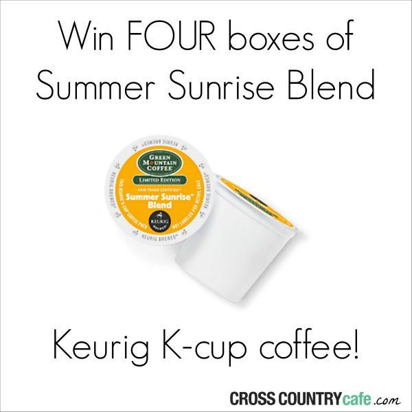Summer-Sunrise-Blend-Kcups-Giveaway
