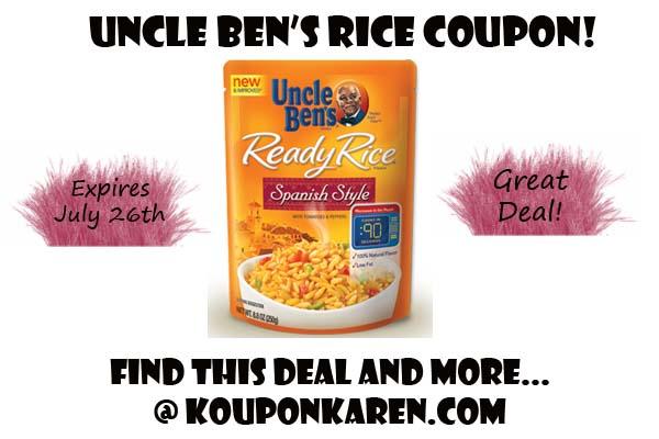 Uncle Ben's Flavored Grain