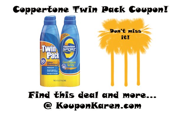 Coppertone Twin Pack