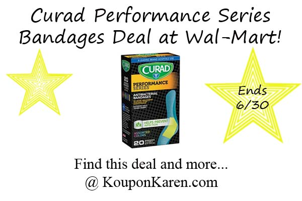 Curad Performance Series Bandages