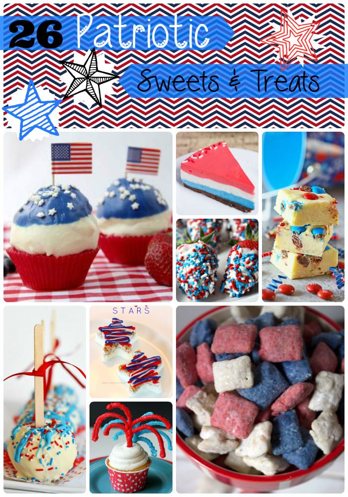 Patriotic Sweets and Treats