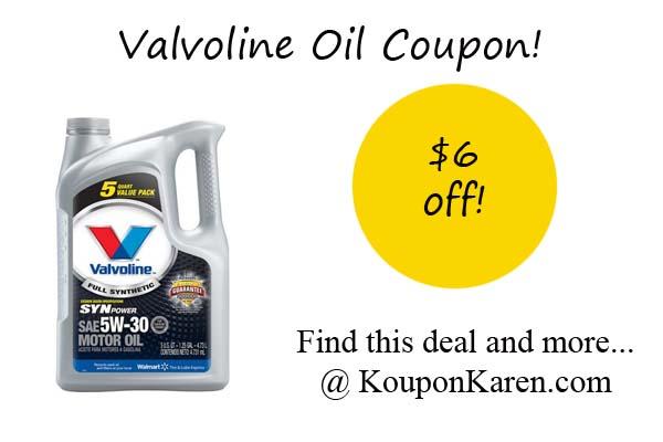 Valvoline Oil
