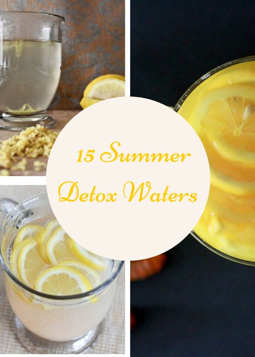Detox Water Recipes to Kick off Summer Right