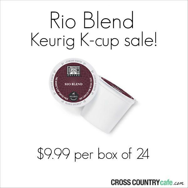 Diedrich Rio Blend K-Cup Sale