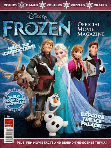 Disney Frozen Magazine Deal