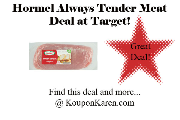 Hormel Always Tender Meat