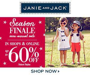 Janie and Jack Semi-Annual Sale