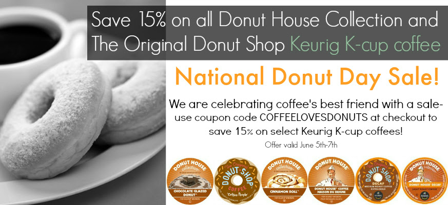 National Donut Day K-Cup Sale