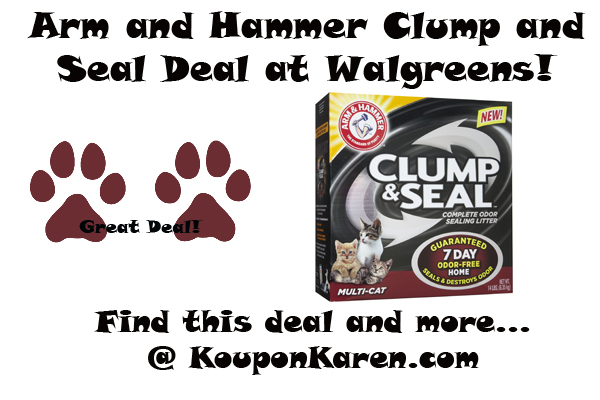 arm and hammer clump and seal