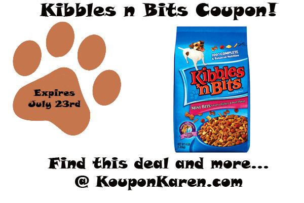 photo regarding Kibbles and Bits Printable Coupons known as Choose this Kibbles n Bits coupon for your subsequent bag of pet dog food stuff!