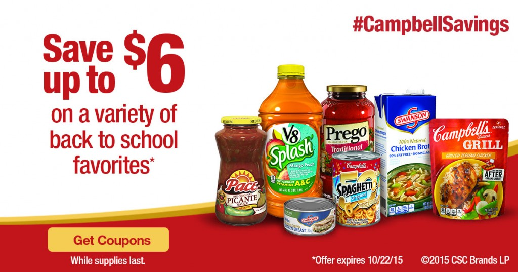 Campbell's® Back To School Savings