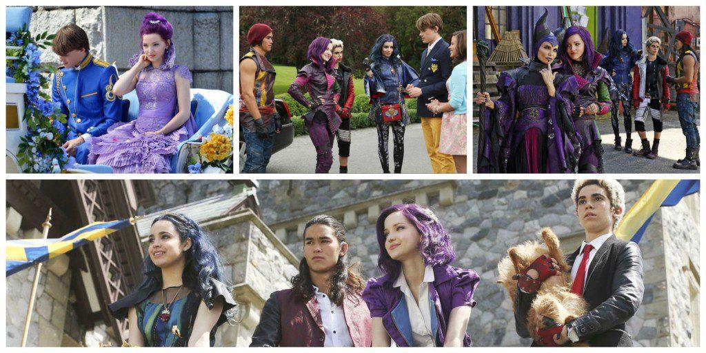 Disney Descendants Collage