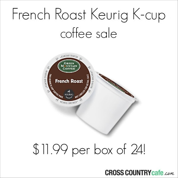 Green Mountain French Roast K-cup Sale