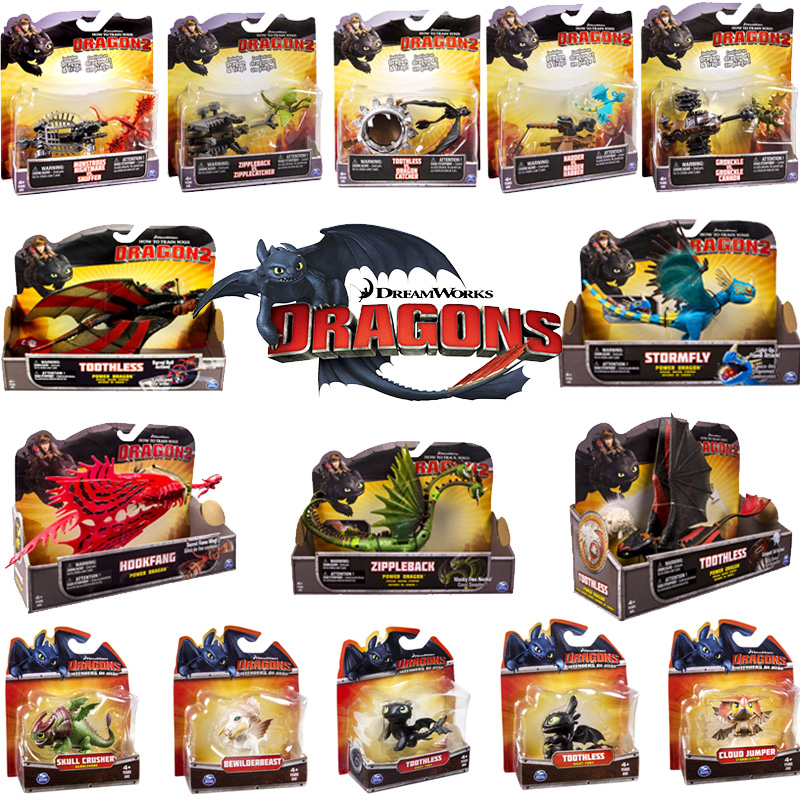 DreamWorks How To Train Your Dragons Action Figures