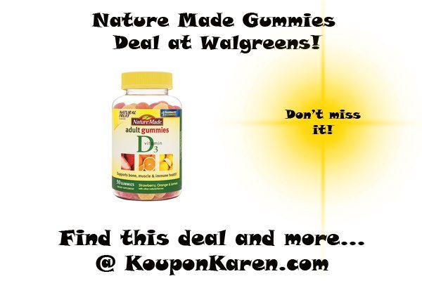 Nature Made Gummies